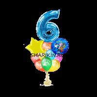 робокар - полли доставка шаров, воздушные шары, шарики с гелием, воздушные шары, воздушные шары спб