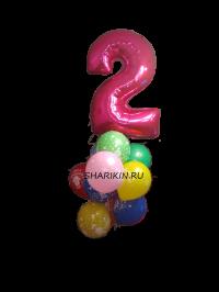 фонтан «праздник» доставка шаров, воздушные шары, шарики с гелием, воздушные шары, воздушные шары спб