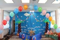 оформление детского сада доставка шаров, воздушные шары, шарики с гелием, воздушные шары, воздушные шары спб