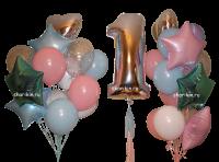 набор шаров «твинс 1» доставка шаров, воздушные шары, шарики с гелием, воздушные шары, воздушные шары спб