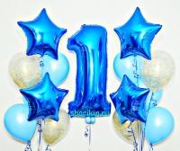 набор шаров «мальчику» доставка шаров, воздушные шары, шарики с гелием, воздушные шары, воздушные шары спб