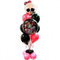 монстер хай тинейджеру доставка шаров, воздушные шары, шарики с гелием, воздушные шары, воздушные шары спб