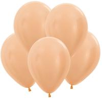перламутр персик доставка шаров, воздушные шары, шарики с гелием, воздушные шары, воздушные шары спб