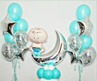 набор шаров «выписка 01» доставка шаров, воздушные шары, шарики с гелием, воздушные шары, воздушные шары спб