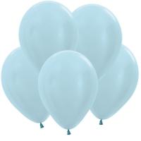 перламутр голубой доставка шаров, воздушные шары, шарики с гелием, воздушные шары, воздушные шары спб