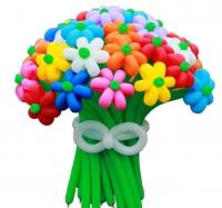 букет из 21 цветка доставка шаров, воздушные шары, шарики с гелием, воздушные шары, воздушные шары спб