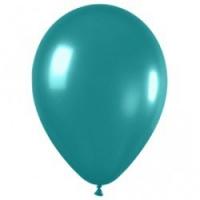 металлик бирюзовый доставка шаров, воздушные шары, шарики с гелием, воздушные шары, воздушные шары спб