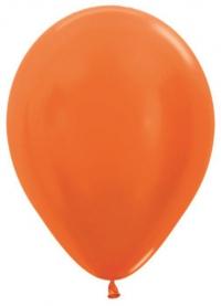 металлик оранжевый доставка шаров, воздушные шары, шарики с гелием, воздушные шары, воздушные шары спб