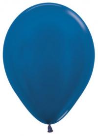 металлик синий доставка шаров, воздушные шары, шарики с гелием, воздушные шары, воздушные шары спб