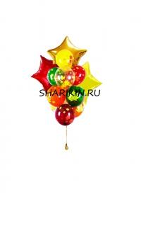 осень золотая воздушные шары, купить недорого