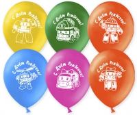 воздушные шары «робокар полли» доставка шаров, воздушные шары, шарики с гелием, воздушные шары, воздушные шары спб