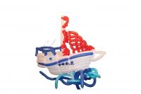 фигура из шаров «корабль» доставка шаров, воздушные шары, шарики с гелием, воздушные шары, воздушные шары спб