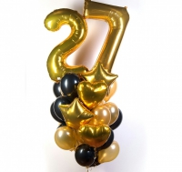 фонтан из шаров взрослому доставка шаров, воздушные шары, шарики с гелием, воздушные шары, воздушные шары спб