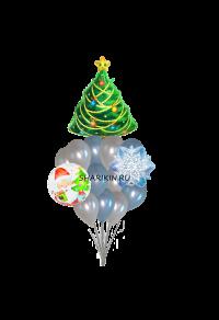 с новым годом доставка шаров, воздушные шары, шарики с гелием, воздушные шары, воздушные шары спб