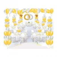 пакет свадебный люкс воздушные шары, купить недорого