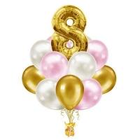 фонтан на день рождения доставка шаров, воздушные шары, шарики с гелием, воздушные шары, воздушные шары спб