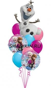 холодное сердце доставка шаров, воздушные шары, шарики с гелием, воздушные шары, воздушные шары спб
