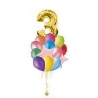 облако шаров с цифрой доставка шаров, воздушные шары, шарики с гелием, воздушные шары, воздушные шары спб
