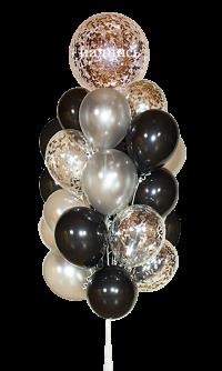 набор шаров «именной мужской» доставка шаров, воздушные шары, шарики с гелием, воздушные шары, воздушные шары спб