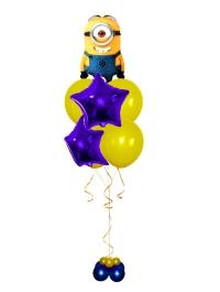 миньон стюарт доставка шаров, воздушные шары, шарики с гелием, воздушные шары, воздушные шары спб