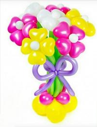 букет из шаров «разноцветный» доставка шаров, воздушные шары, шарики с гелием, воздушные шары, воздушные шары спб