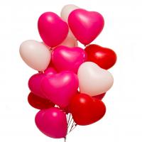 фонтан из шаров «валентинки» доставка шаров, воздушные шары, шарики с гелием, воздушные шары, воздушные шары спб