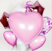 нежный букет из шаров доставка шаров, воздушные шары, шарики с гелием, воздушные шары, воздушные шары спб