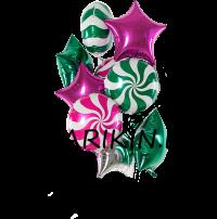 букет «карамелька» доставка шаров, воздушные шары, шарики с гелием, воздушные шары, воздушные шары спб