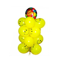 набор шаров «весёлый» доставка шаров, воздушные шары, шарики с гелием, воздушные шары, воздушные шары спб