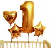 набор на годик доставка шаров, воздушные шары, шарики с гелием, воздушные шары, воздушные шары спб