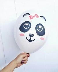шар «пандочка» доставка шаров, воздушные шары, шарики с гелием, воздушные шары, воздушные шары спб