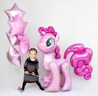 пинки пай и звёзды доставка шаров, воздушные шары, шарики с гелием, воздушные шары, воздушные шары спб