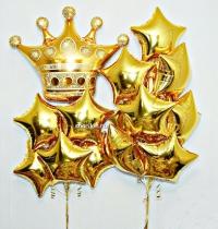 набор шаров «королевский» доставка шаров, воздушные шары, шарики с гелием, воздушные шары, воздушные шары спб
