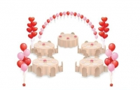 свадебный пакет мини 1 воздушные шары, купить недорого