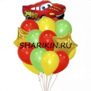 весёлый гонщик доставка шаров, воздушные шары, шарики с гелием, воздушные шары, воздушные шары спб