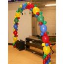 гирлянда из линколунов доставка шаров, воздушные шары, шарики с гелием, воздушные шары, воздушные шары спб