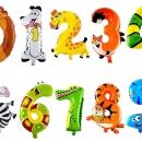 цифры животные