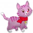 шар котик доставка шаров, воздушные шары, шарики с гелием, воздушные шары, воздушные шары спб