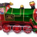 шар «поезд» доставка шаров, воздушные шары, шарики с гелием, воздушные шары, воздушные шары спб