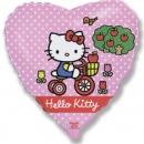 шар «китти» круг доставка шаров, воздушные шары, шарики с гелием, воздушные шары, воздушные шары спб