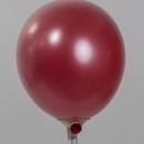Стеклянный шар красный