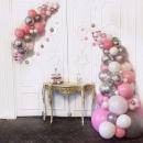 разнокалиберная гирлянда из шаров доставка шаров, воздушные шары, шарики с гелием, воздушные шары, воздушные шары спб