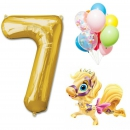 набор с королевским пони доставка шаров, воздушные шары, шарики с гелием, воздушные шары, воздушные шары спб