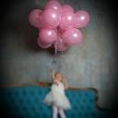 стеклянный шар нежно-розовый доставка шаров, воздушные шары, шарики с гелием, воздушные шары, воздушные шары спб