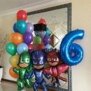шар «герои в масках» доставка шаров, воздушные шары, шарики с гелием, воздушные шары, воздушные шары спб
