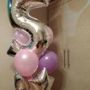маленькой принцессе доставка шаров, воздушные шары, шарики с гелием, воздушные шары, воздушные шары спб