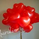 латексные сердца доставка шаров, воздушные шары, шарики с гелием, воздушные шары, воздушные шары спб