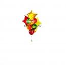 кленовые листья доставка шаров, воздушные шары, шарики с гелием, воздушные шары, воздушные шары спб