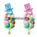 мой мишка доставка шаров, воздушные шары, шарики с гелием, воздушные шары, воздушные шары спб