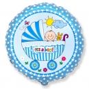 шар «малыш в коляске» доставка шаров, воздушные шары, шарики с гелием, воздушные шары, воздушные шары спб